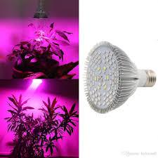 Led Grow Lights Cannabis 220v 110v 30w 50w 80w E27 Led Grow Light Lamp For Plants