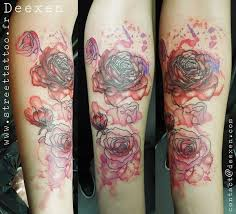what do different rose tattoos symbolize