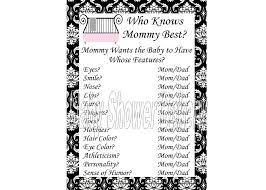 Elegant Baby Shower by Black And White Damask Baby Shower Game Black And White Baby