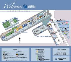 miami airport terminal map ted anchorage international airport terminal map
