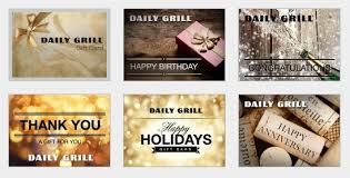 ecard gift card gift cards daily grill