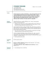 good resume exles for recent college graduates sle resumes for recent college graduates