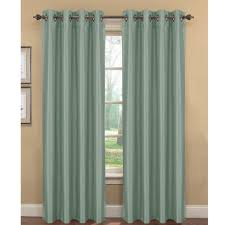 Victoria Classics Curtains Grommet by Kim Faux Silk Extra Wide Grommet Curtain Panel Set Of 2