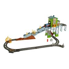 fisher price thomas the train table fisher price thomas friends trackmaster fiery rescue train set