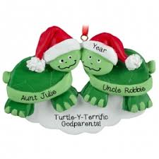 turtle ornaments gifts personalized ornaments for you