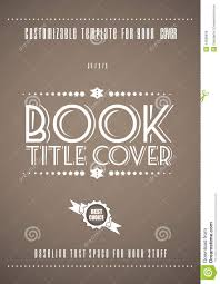minimal modern book cover template stock vector image 44938939