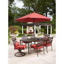 Home Depot Patio Dining Sets Hton Bay Middletown 7 Patio Dining Set Deal