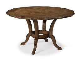 Pedestal Base For Dining Table Carolina Preserves By Klaussner Southern Pines 54 Inch Round