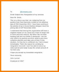 resignation letter attached via email email resignation letter