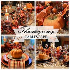 dining delight thanksgiving tablescape 2015