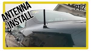 acura integra build part 2 how to fix integra antenna shorty