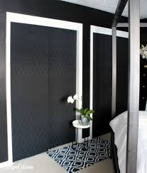 Fabric Closet Doors One Room Challenge Master Bedroom Closet Doors Fabric Covered
