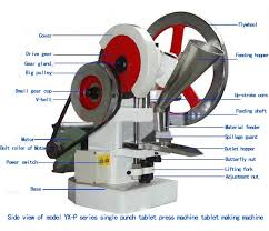 Bench Punch Press Single Punch Tablet Press Machine Tablets Making Machine