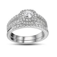 cheap wedding rings sets wedding ring sets cheap bridal ring sets on sale lajerrio jewelry