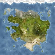 Fantasy World Map by For Fantasy Maps I Go With The Atlas Style Maps 123235003 Added