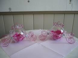 deco de table pour anniversaire les contenants à dragées en forme de carrosse suite de la