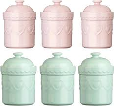 cream kitchen canisters heart kitchen canisters green tea coffee sugar canisters x us