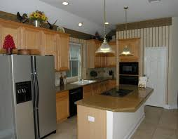dan cindy home tours big island kitchen with lots cabinet storage granite counters high ceilings refrigerator stays home
