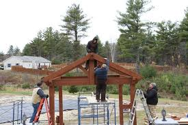 10 X 20 Pergola Kit by Plan For An Easy 16 U0027 X 20 U0027 Diy Solid Wood Pergola Or Pavilion