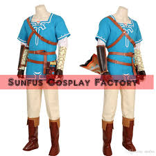 link costumes for halloween halloween the legend of zelda breath of the wild link costume