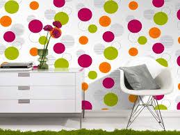 papier peint chambre fille leroy merlin tapisserie rond tapisseries designs