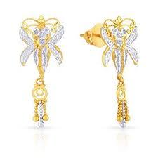 malabar diamond earrings diamond jewellery malabar diamond earrings retailer from kolkata
