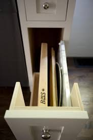 kitchen breadboard drawer in cabinet wire kitchen cabinets
