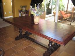 european paint finishes spanish colonial trestle table