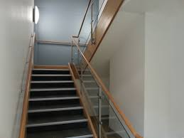 Stainless Steel Handrails Brisbane Stainless Steel Uprights Timber Top Rail And Toughened Glass