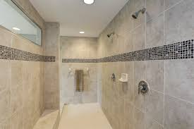 roman shower with granite tile in owner u0027s bathroom the rosecliff