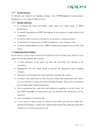 sample profile in resume internship report on oppo