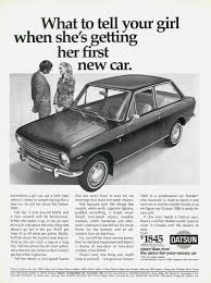 nissan canada downtown toronto 1969 datsun 1000 canada posters canada japanese cars and nissan