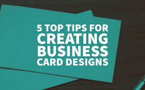 business card design tips 5 top tips for creating business card designs that impress