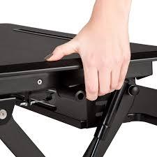 Schreibtisch Gross Sitz Steh Schreibtisch Aufsatz Höhenverstellbar Ergonomisch Groß