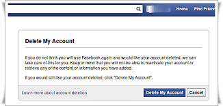 how to delete facebook account permanently immediately quick