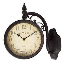 Pottery Barn Outdoor Clock 12 Best Hanging Clocks Images On Pinterest Hanging Clock Cast