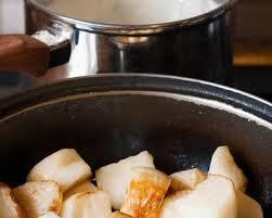 cuisiner navets nouveaux recette navets nouveaux glacés