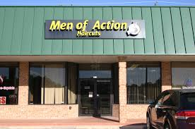men of action hair cuts in roanoke texas services
