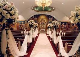 wedding church decorations wedding guide