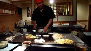 japanese restaurant cook at table hibachi a japanese style of cooking youtube