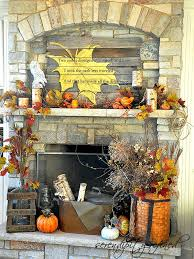 diy fall mantel decor ideas to inspire landeelu com diy fall mantel decor ideas to inspire painted leaves mantels and