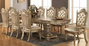 gold dining table set gold dining table antique carved set gorgeous luxury glass top 8