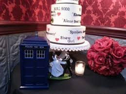 doctor who cake topper pictures of our wedding cake from nine cakes and our doctor who