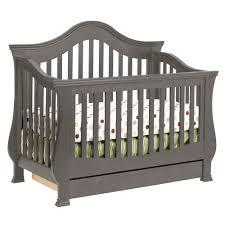Espresso Baby Crib by Million Dollar Baby 2 Piece Nursery Set Ashbury 4 In 1 Sleigh