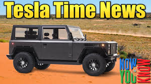 tesla time news bollinger b1 electric suv and more youtube