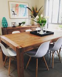here is another angle of my silverwood dining table with the