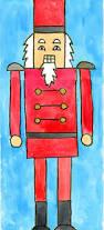 nutcracker watercolor painting art projects for kids prek
