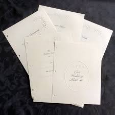 wedding memory book wedding memory book refill pages set of wedding memory book