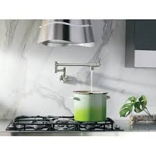 wall mounted kitchen faucets wall mounted kitchen faucet you ll wayfair