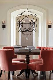 Dining Room Table Light Architecture Dining Room Cottage Rustic Room With Iron Pendant